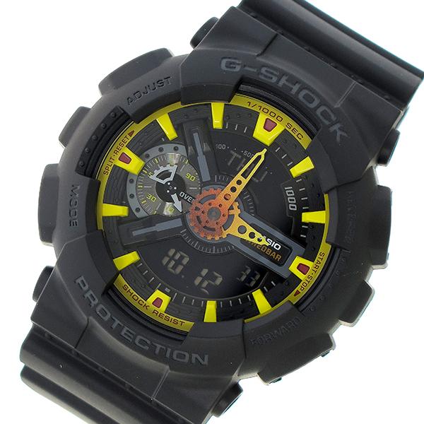 カシオ CASIO Gショック G-SHOCK クオーツ メンズ 腕時計 時計 GA-110BY-1A ブラック