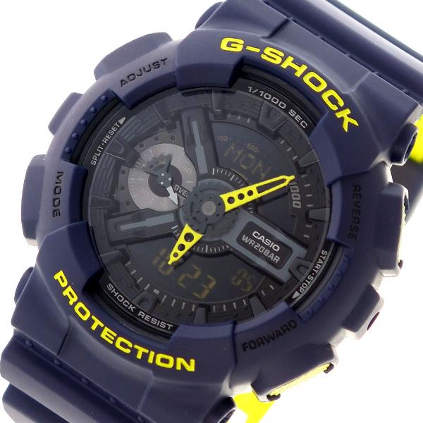 カシオ CASIO Gショック G-SHOCK クオーツ メンズ 腕時計 時計 GA-110LN-2A ブラック