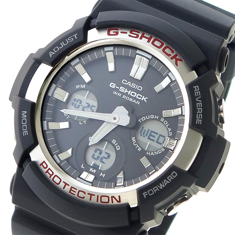 カシオ CASIO Gショック G-SHOCK クオーツ メンズ 腕時計 時計 GAS-100-1A ブラック