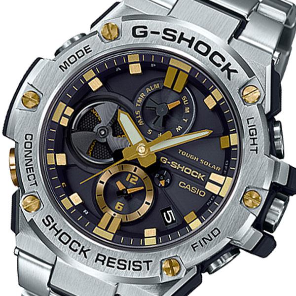 カシオ CASIO Gショック G-SHOCK クオーツ メンズ 腕時計 GST-B100D-1A9JF ブラック 国内正規【送料無料】