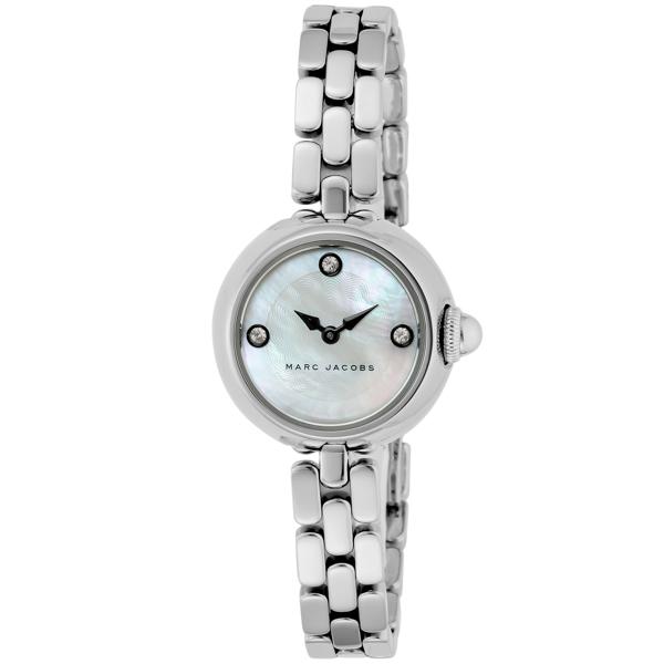 マークジェイコブス MARC JACOBS コートニー 8ptスワロフスキー レディース 腕時計 時計 MJ3459 ホワイトパール