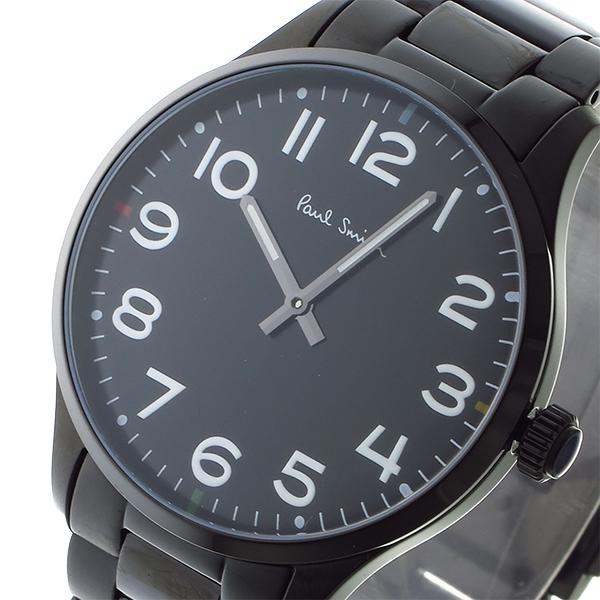 ポールスミス PAUL SMITH クオーツ メンズ 腕時計 時計 P10066 ブラック