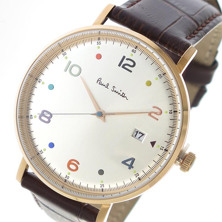 ポールスミス PAUL SMITH クオーツ メンズ 腕時計 時計 PS0060003 シルバー/ピンクゴールド