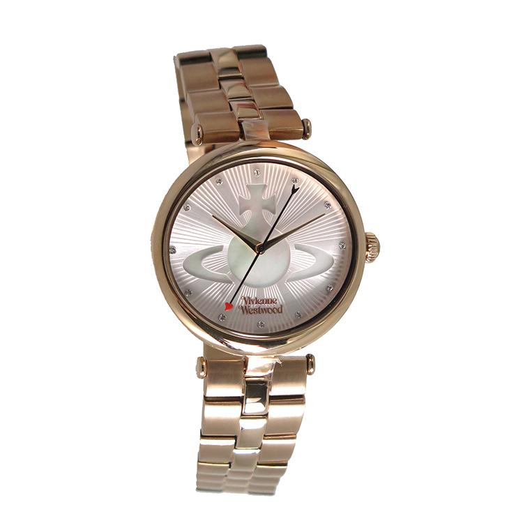 ヴィヴィアンウエストウッド Vivienne Westwood クオーツ レディース 腕時計 時計 VV184LPKRS ピンクベージュ/シェル【ポイント10倍】【楽ギフ_包装】