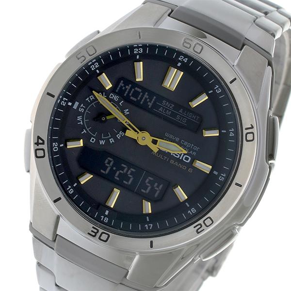 カシオ ウェーブセプター メンズ 電波 腕時計 時計 WVA-M650D-1AJF 国内正規【S1】