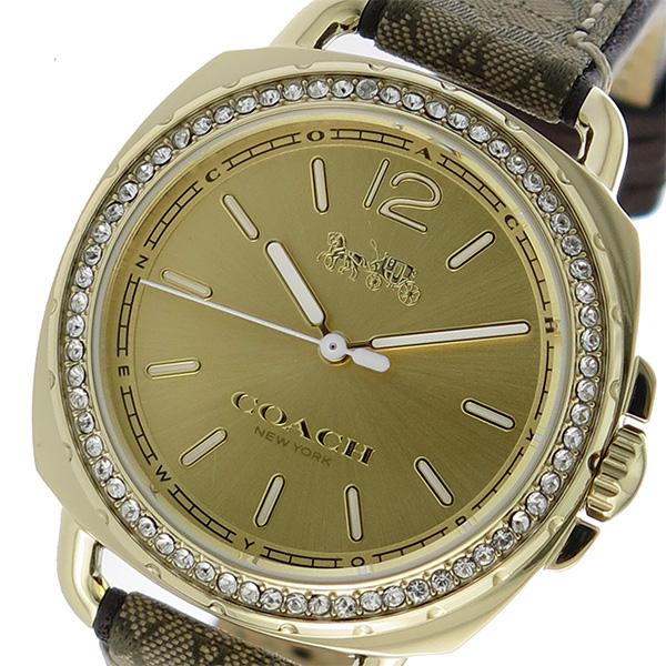 コーチ COACH ティタム クオーツ レディース 腕時計 時計 14502770 ゴールド