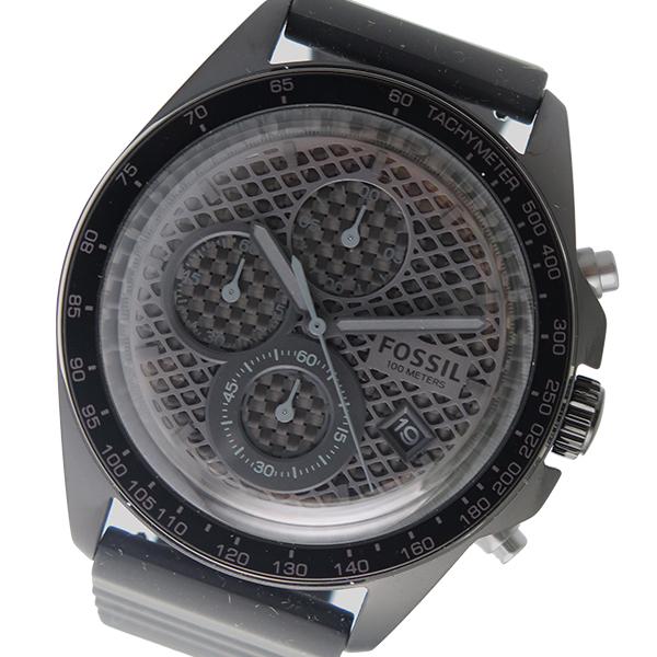 フォッシル FOSSIL クロノ クオーツ メンズ 腕時計 時計 CH3080 ブラック