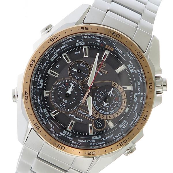 カシオ CASIO エディフィス EDIFICE メンズ 腕時計 時計 EQS-500DB-1A2 ブラック