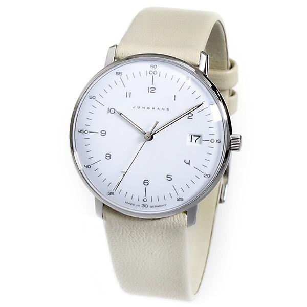 ユンハンスマックスビルクオーツレディース腕時計047425200ホワイト国内正規【送料無料】【ポイント10倍】【_包装】