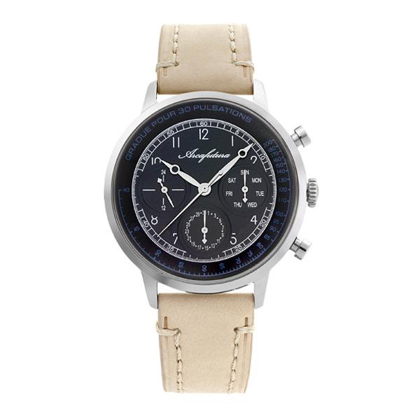 アルカ フトゥーラ クオーツ メンズ 腕時計 時計 700BKBE ブラック 国内正規