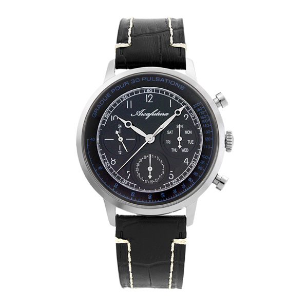 アルカ フトゥーラ クオーツ メンズ 腕時計 時計 700BKBK ブラック 国内正規