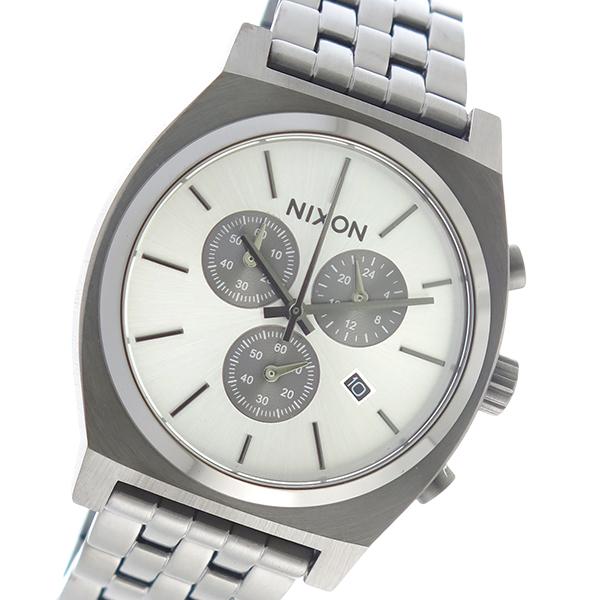 ニクソン NIXON クオーツ メンズ 腕時計 時計 A972-632 シルバー