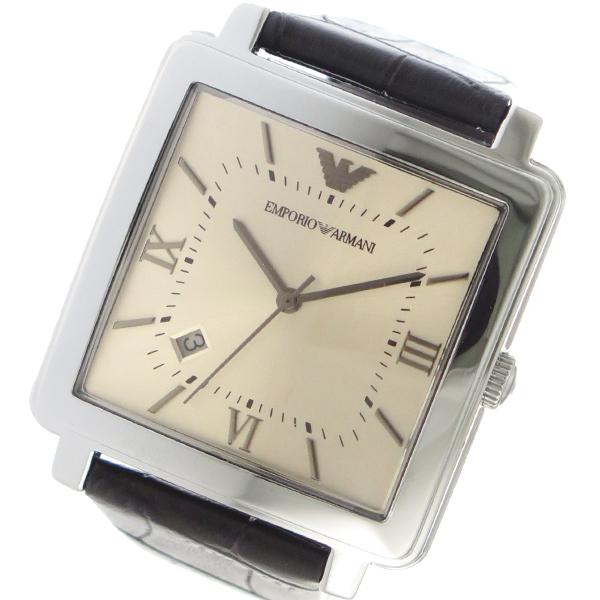 エンポリオアルマーニ EMPORIO ARMAN クオーツ メンズ 腕時計 時計 AR11098 ゴールド
