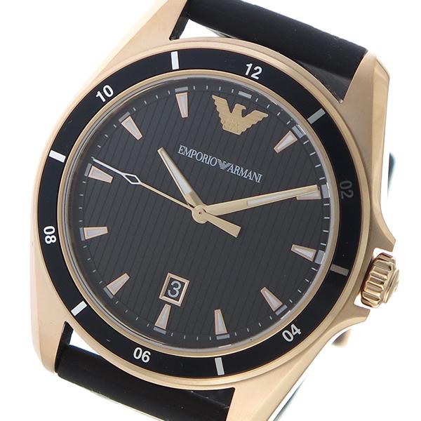 エンポリオアルマーニ EMPORIO ARMAN クオーツ メンズ 腕時計 時計 AR11101 ブラック