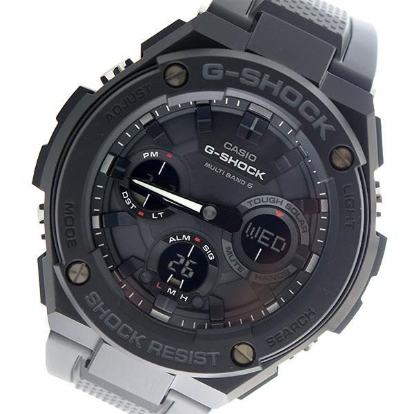 カシオ CASIO Gショック G-SHOCK Gスチール G-STEEL クオーツ メンズ 腕時計 時計 GST-W100G-1B ブラック