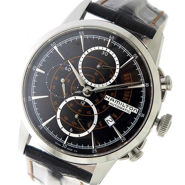 ハミルトン HAMILTON レイルロード 自動巻き メンズ 腕時計 H40656731 ブラック【送料無料】