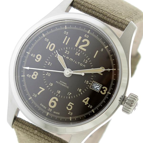 ハミルトン HAMILTON カーキ フィールド 自動巻き メンズ 腕時計 H70305993 ブラウン【】【ポイント10倍】【楽ギフ_包装】【inte_D1806】