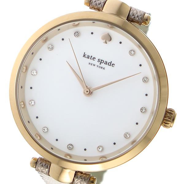 ケイトスペード KATE SPADE クオーツ レディース 腕時計 時計 KSW1402 ホワイト