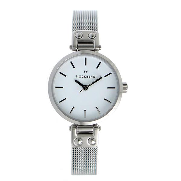 モックバーグ MOCKBERG クオーツ レディース 腕時計 時計 MO402 ホワイト【ポイント10倍】【楽ギフ_包装】
