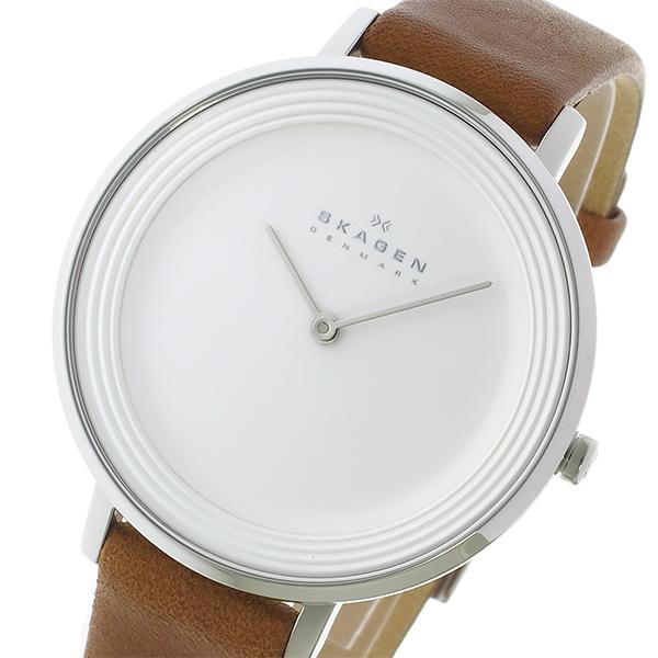 スカーゲン SKAGEN クオーツ レディース 腕時計 時計 SKW2214 ホワイト/シルバー