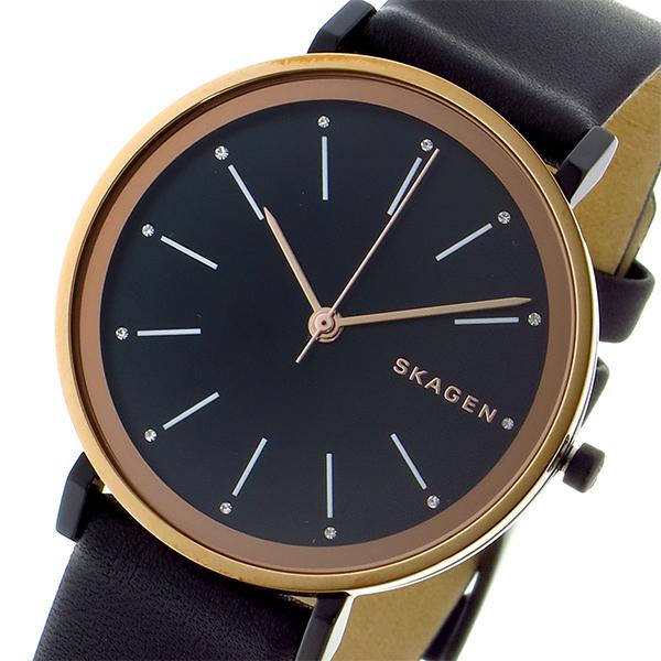 スカーゲン SKAGEN ハルド HALD クオーツ レディース 腕時計 時計 SKW2490 ブラック/ブラック