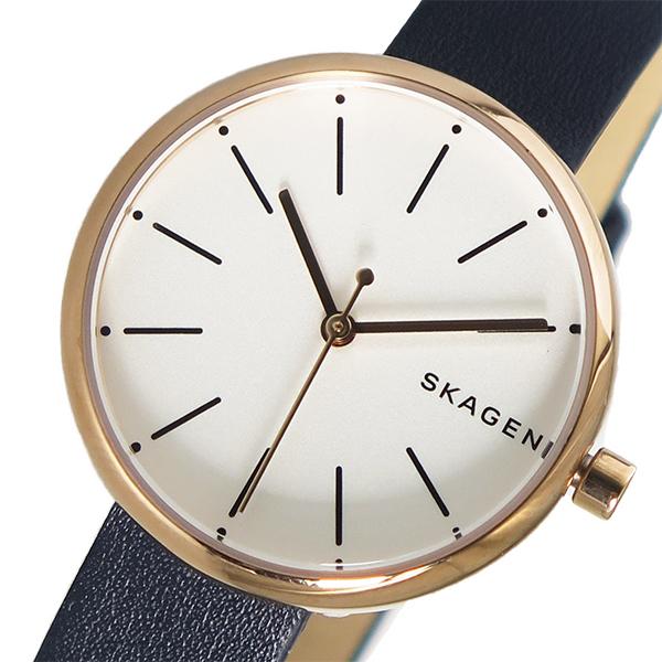スカーゲン SKAGEN シグネチャー SIGNATUR クオーツ レディース 腕時計 時計 SKW2592 ホワイト