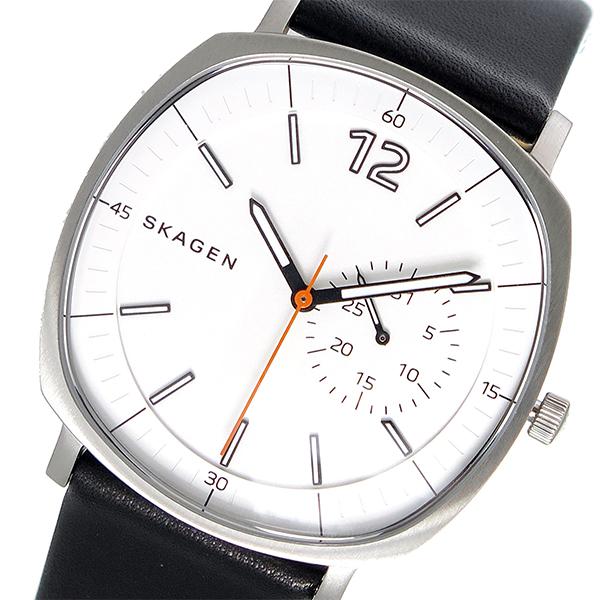 スカーゲン SKAGEN ラングステッド RUNGSTED クオーツ メンズ 腕時計 時計 SKW6256 ホワイト