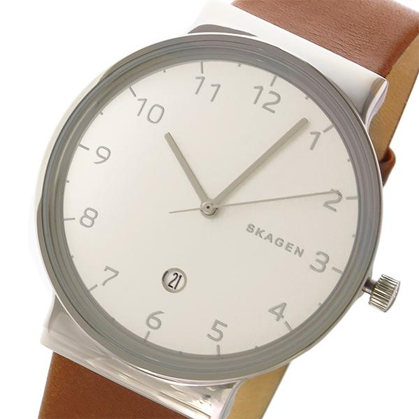 スカーゲン SKAGEN アンカー ANCHER クオーツ メンズ 腕時計 時計 SKW6292 ホワイト