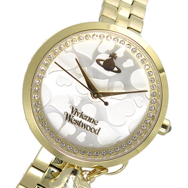 ヴィヴィアン ウエストウッド VIVIENNE WESTWOOD クオーツ レディース 腕時計 時計 VV139SLGD シルバー