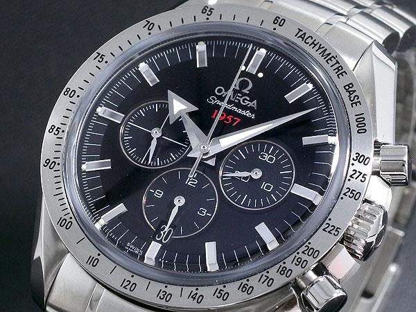 オメガ OMEGA スピードマスター コーアクシャル 自動巻 メンズ 腕時計 321.10.42.50.01.001 ブラック【送料無料】