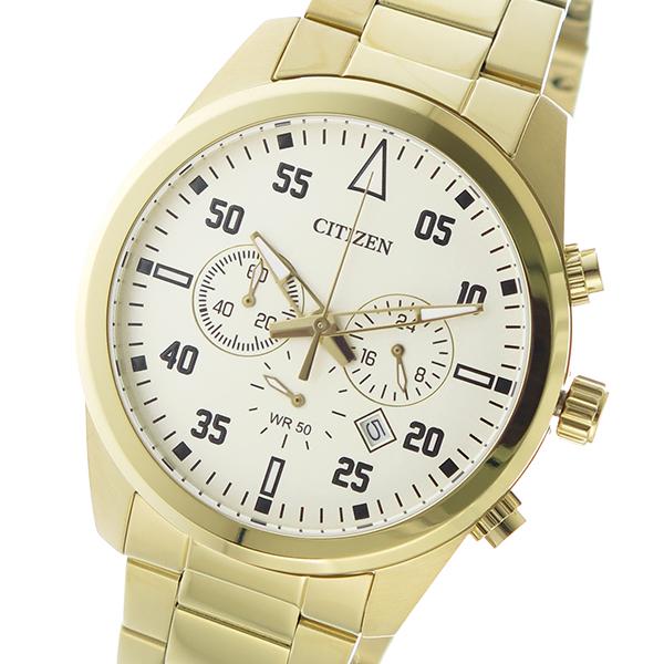 シチズン CITIZEN クオーツ メンズ 腕時計 時計 AN8092-51P ゴールド