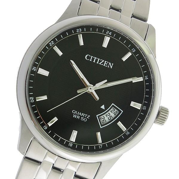 シチズン CITIZEN クオーツ メンズ 腕時計 時計 BI1050-81E ブラック