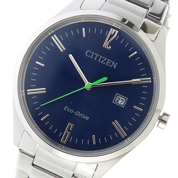 シチズン CITIZEN クオーツ メンズ 腕時計 時計 BM7350-86L ネイビー