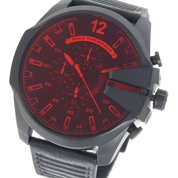 ディーゼル DIESEL クオーツ メンズ 腕時計 時計 DZ4460 レッド/ブラック