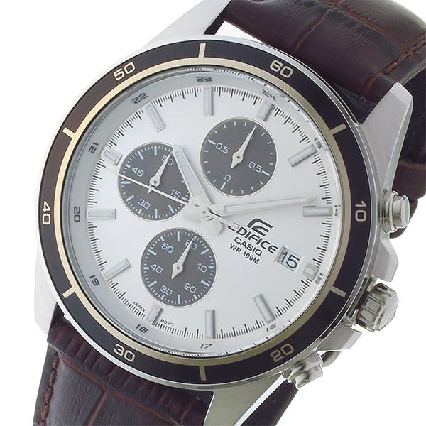 カシオ CASIO エディフィス EDIFICE クオーツ メンズ 腕時計 時計 EFR-526L-7AV シルバー