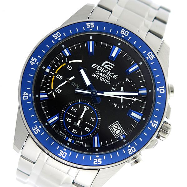 カシオ CASIO エディフィス EDIFICE クロノグラフ クオーツ メンズ 腕時計 時計 EFV-540D-1A2V ブラック