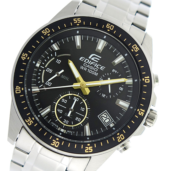 カシオ CASIO エディフィス EDIFICE クロノグラフ クオーツ メンズ 腕時計 時計 EFV-540D-1A9V ブラック
