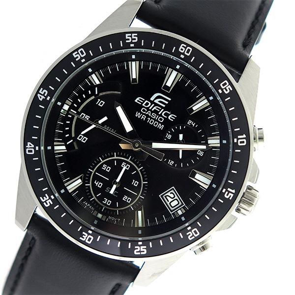 カシオ CASIO エディフィス EDIFICE クロノグラフ クオーツ メンズ 腕時計 時計 EFV-540L-1AV ブラック