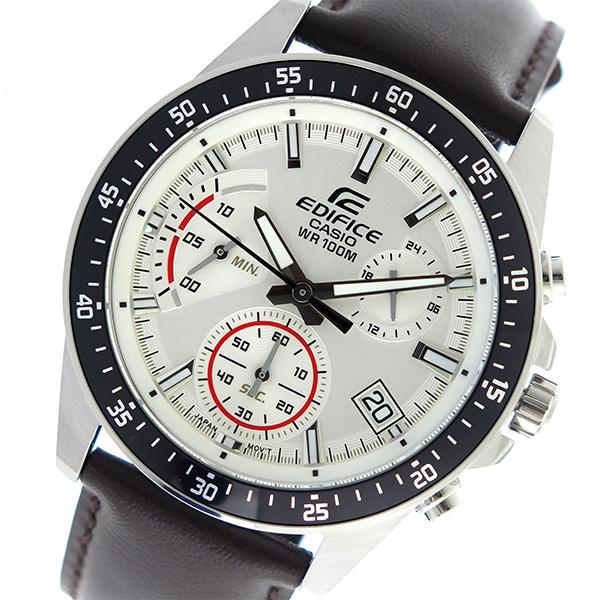 カシオ CASIO エディフィス EDIFICE クロノグラフ クオーツ メンズ 腕時計 時計 EFV-540L-7AV ホワイト