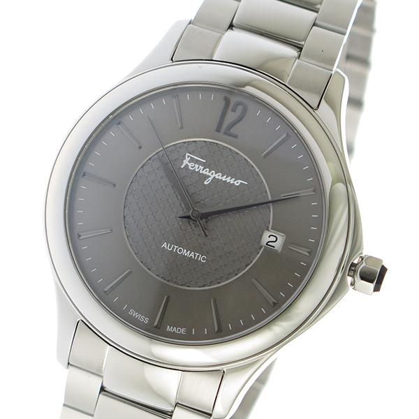 サルヴァトーレ フェラガモ 自動巻き メンズ 腕時計 FFT050016 グレー【送料無料】