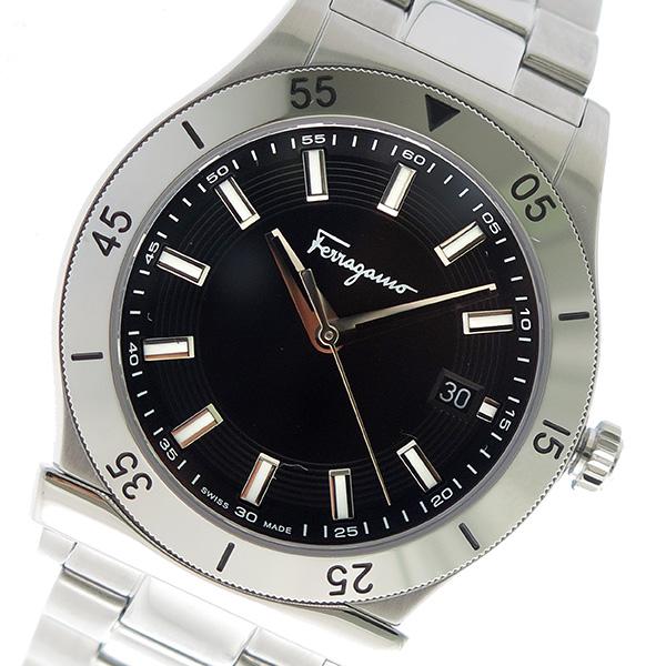 サルヴァトーレ フェラガモ クオーツ メンズ 腕時計 FH1030017 ブラック【送料無料】