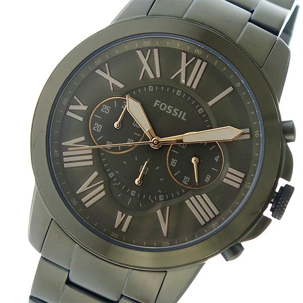 フォッシル FOSSIL クオーツ メンズ 腕時計 時計 FS5375 カーキ