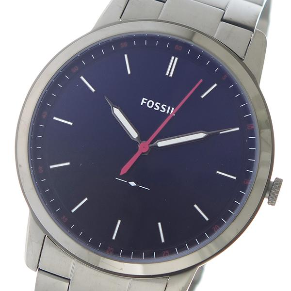 フォッシル FOSSIL クオーツ メンズ 腕時計 時計 FS5377 ネイビー