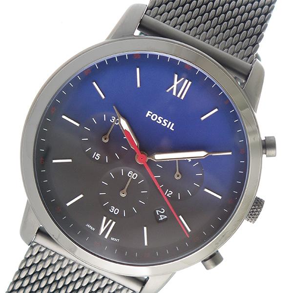 フォッシル FOSSIL クオーツ メンズ 腕時計 時計 FS5383 ネイビー