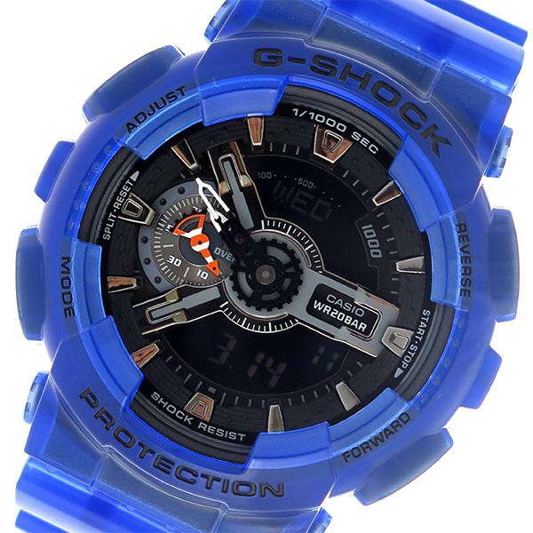 カシオ CASIO Gショック G-SHOCK メンズ 腕時計 時計 GA-110CR-2AJF ブラック/ブルー