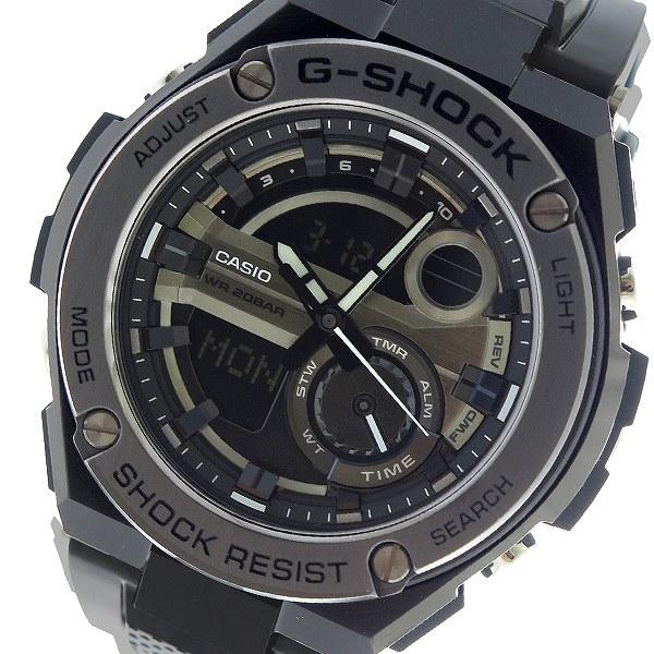 カシオ CASIO Gショック G-SHOCK クオーツ メンズ 腕時計 時計 GST-210M-1A ブラック