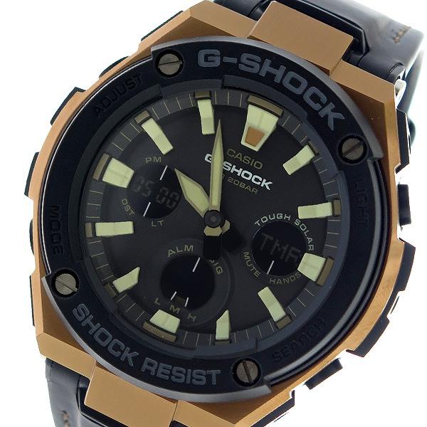 カシオ CASIO Gショック G-SHOCK クオーツ メンズ 腕時計 時計 GST-S120L-1A ブラック