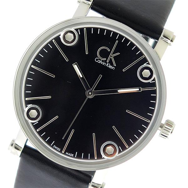 カルバンクライン Calvin Klein CK クオーツ レディース 腕時計 時計 K3B231C1 ブラック/ブラック