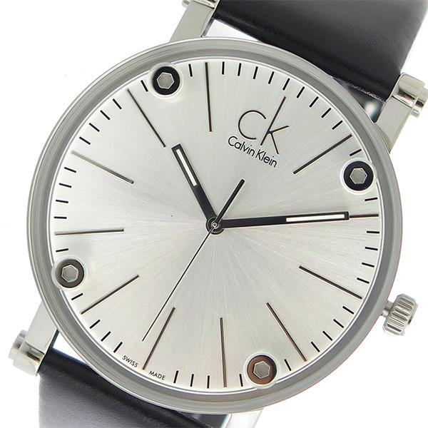 カルバンクライン Calvin Klein CK クオーツ メンズ 腕時計 時計 K3B2T1C6 シルバー/ブラック