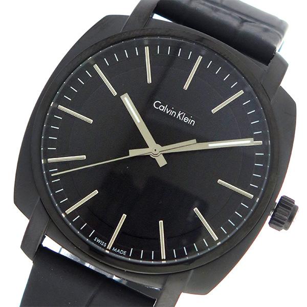 カルバンクライン Calvin Klein CK クオーツ メンズ 腕時計 時計 K5M314C1 ブラック/ブラック
